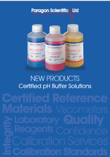 Paragon Scientific Certified pH Buffer Solutions